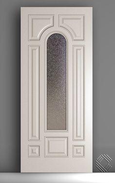Custom Entry Door with Center Open for Glass Modern Wooden Doors, Wooden Front Doors, Wooden Door Design, Wood Doors, Urban Interior Design, Door Design Images, Single Door Design, Iron Front Door, Classic Doors