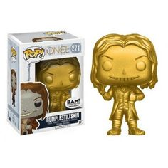 Funko Pop! Rumplestiltskin Gold, Books a Million Exclusive, BAM!, Once Upon a Time, Funkomania, Séries