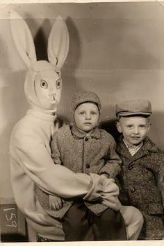 Explicit creepy terror horror bunny kids picture