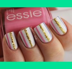 I think this nail design is so cute!!! U can wear it during school or during the summer or during the winter or any time of the year!!