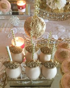 My Little Angel Decorations 's Baby Shower / Royal Princess - Photo Gallery at Catch My Party Princess Photo, Royal Princess, Baby Shower Princess, Baby Princess, 15th Birthday Party Ideas, Birthday Parties, Candy Table, Candy Buffet, Royal Room