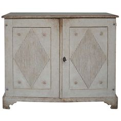 Gustavian Two-Door Sideboard   From a unique collection of antique and modern sideboards at https://www.1stdibs.com/furniture/storage-case-pieces/sideboards/