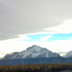 Stunning. #palmeralaska #Palmer #Alaska #snow