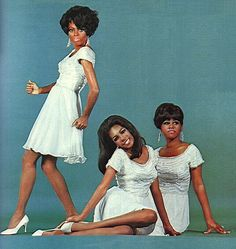 Love this image of The Supremes.