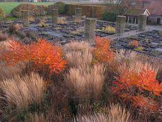 Piet Oudolf office garden / nursery