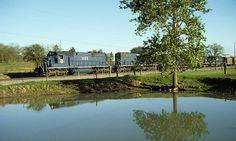 Missouri Pacific train FK at Argyle, Texas