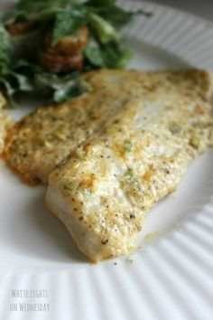 Parmesan Tilapia.....was delicious!!!  Gray asked if we could have it again tomorrow night!!!