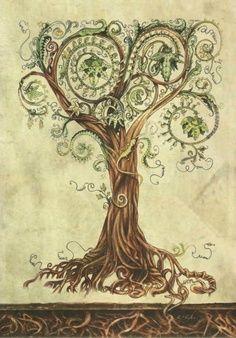 celtic tree ~ interesting