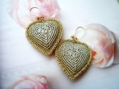 https://flic.kr/p/H6ecdb | heart earrings | OLYMPUS DIGITAL CAMERA