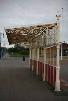 Victorian bus shelter, Portsmouth