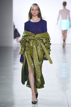 The complete Priscavera FW 2018 Ready-to-Wear fashion show now on Vogue Runway.