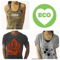 Our Brand New Spring 2014 Line (now including Eco Earth Friendly options and a Men's line!!!) is NOW available on line! http://www.yogatees-nyc.com