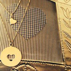 Heart necklace. By Soulu Atelier #souluatelier #jewelry