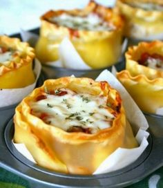 Muffin Tin Lasagna Cups Are An Internet Sensation!   The WHOot