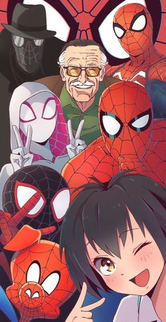 (Spider man in the spider verse) - Marvel Comics Marvel Avengers, Marvel Fan Art, Marvel Funny, Marvel Heroes, Marvel Characters, Ms Marvel, Captain Marvel, All Spiderman, Amazing Spiderman