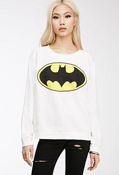 Batman Graphic Sweatshirt | FOREVER21 - 2000079809