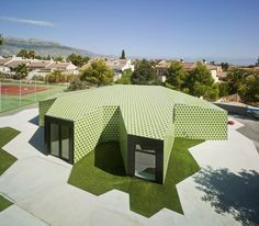 Administration Extension to office building in Alicante, Spain / CRYSTALZOO