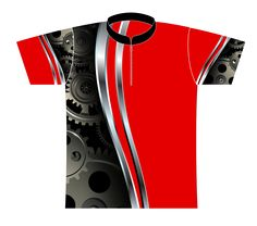 Dye Sublimated Jersey Style 0113-Red - Logo Infusion