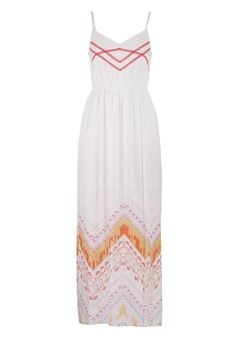 patterned bottom maxi dress - maurices.com