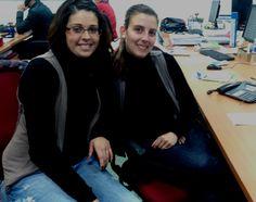 Compartimos una nueva imagen para nuestro Diario de Abordo. Cecilia y María José, dos de nuestras tutoras, siempre, con una sonrisa