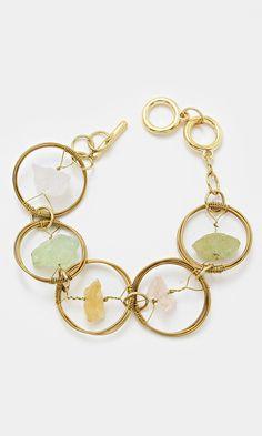 Tri Tone Quartz Bracelet