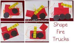 Shape Fire Truck                                                                                                                                                                                 More