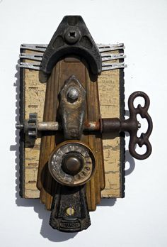 Found Object Assemblage -