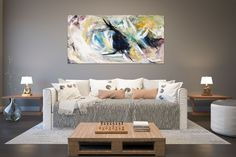 Original Painting on Canvas,Original Abstract Canvas Art,large canvas art,square painting,canvas ori Large Abstract Wall Art, Large Canvas Art, Large Wall Art, Wall Canvas, Large Art, Modern Oil Painting, Large Painting, Texture Painting, Painting Canvas