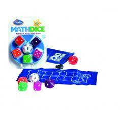 A Math Dice junior az örökzöld Math Dice kisebbeknek fejlesztett változata. Az egyszerűbb szabályoknak köszönhetően már alsó tagozatban is élvezettel játszható: a 12 oldalú kocka segítségével dobunk egy célszámot, majd ezután az 5 Math Games, Decir No, Marvel, Logos, Kids, Shopping, Mental Calculation, Toddler Travel, Kids Learning Games