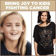 "Jessie Joy Rees bravely fought 2 brain tumors. During her fight, she chose to spread #Joy to other children with cancer.     Each shirt purchased will keep Jessie's legacy alive and provide ""JoyJars""  for #children fighting #cancer."