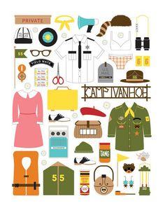 16 creaciones geniales inspiradas en el universo Wes Anderson