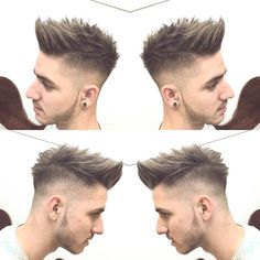 "359 Likes, 12 Comments - Alvaro Vargas Roso (@vargasbarbercutz) on Instagram: ""North Europe Hairstyle  #barberpost #barbershop #barberskills #barberlife #fade #high #ireland…"""