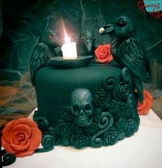 Goth cake...