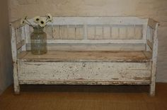 Antique Bench With Storage | Search Results | Free Woodworking ...