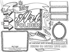 my art folder - photo