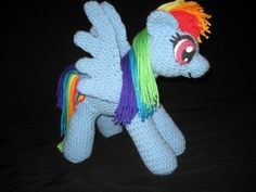 My Little Pony Amigurumi with instructions!