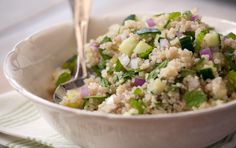 Quinoa Cucumber Mint Salad