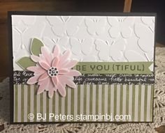 Flower Patch, Blog Hop, BJ Peters, Stampin' Up!
