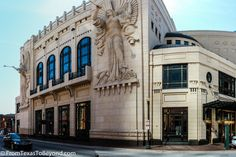 Exterior of Bass Performance Hall, Fort Worth TX