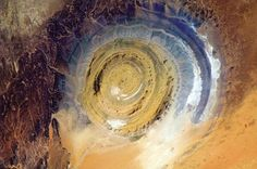 Estrutura de Richat, África