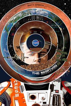 The Martian by edgarascensao