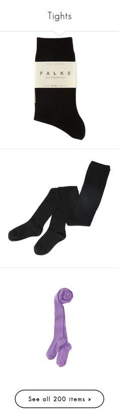 """""""Tights"""" by samtiritilli ❤ liked on Polyvore featuring intimates, hosiery, socks, socks / tights, underwear, falke, merino socks, falke hosiery, merino wool socks and falke socks"""
