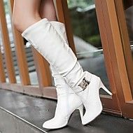 Women's Shoes Leatherette Stiletto Heel Round Toe Knee High Boots Boots Dress Black/White/Beige. Get sizzling discounts up to 70% at Light in the box using Coupon and Promo Codes.