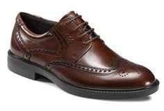 Zapato Ecco marron