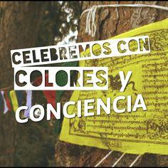 Celebremos con colores la alegría de compartir el deporte, siendo responsables con nuestro entorno. #BanderaTibetana #CopaAmérica #Chile #LaRojaDeTodos #Deporte
