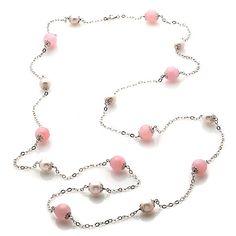 Tara Pearls Cultured Pearl and Quartzite Necklace