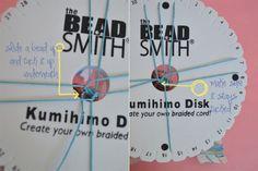 DIY Beaded Kumihimo Bracelet 2