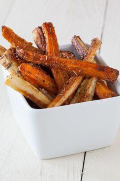 #Epicure Parsnip  Carrot Oven Fries #vegetarian