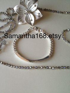 Tiffany Inspire Sterling Silver Bracelet by Samantha168 on Etsy, $30.00