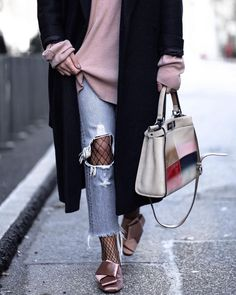 Fishnets Are Back: Here are 18 Chic Ways to Wear Them | how to style fishnets | fishnet style ideas | ways to wear fishnets | style ideas for fisnnets | Glitter, Inc.